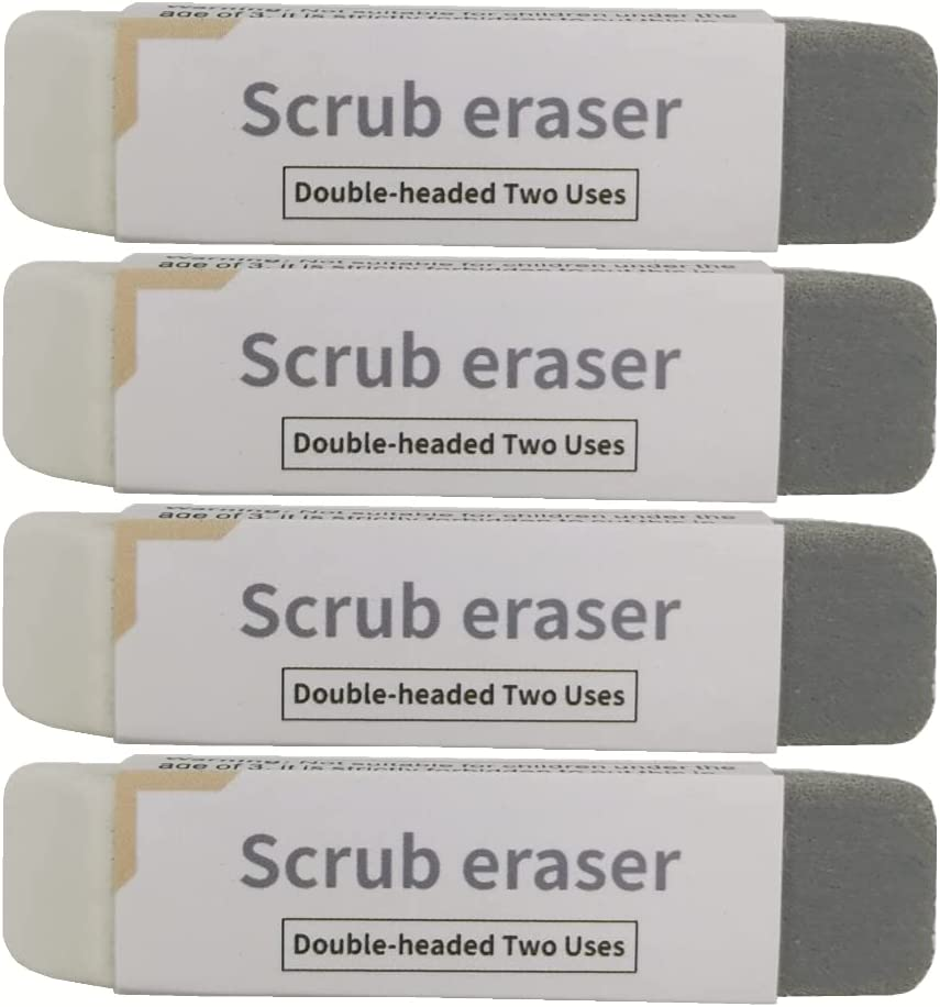Large special price !! Tododli Sand Max 81% OFF Erasers 4 packs silicone eraser colo to clear used