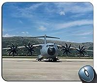 精密シーミングゲーミングおしゃれスリップ防止マウスパッド、空軍航空機パターンカスタマイズされた長方形滑り止めラバーおしゃれスリップ防止マウスパッドゲーミングマウスマット