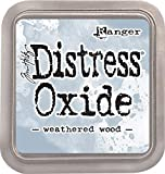 Ranger Tim Holtz Distress Oxide Weathered Wood, Marrone, 7.6 X 7.6 Cm
