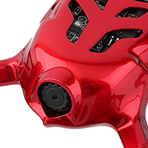 Hubsan X4 H107C - Quadcopter (cámara 2 Mp, 2.4 GHz, LCD), color rojo