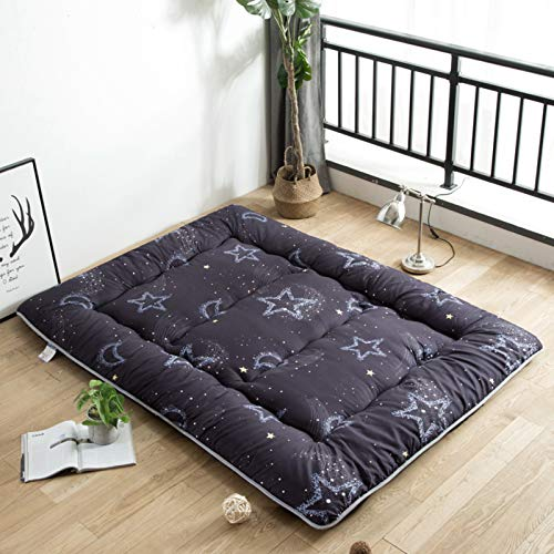 LXSHMF Thick Futon Floor Mattresses,Soft Portable Mattress Double Single Japanese Futon,Japanese Tatami Floor Mat Foldable Mattress