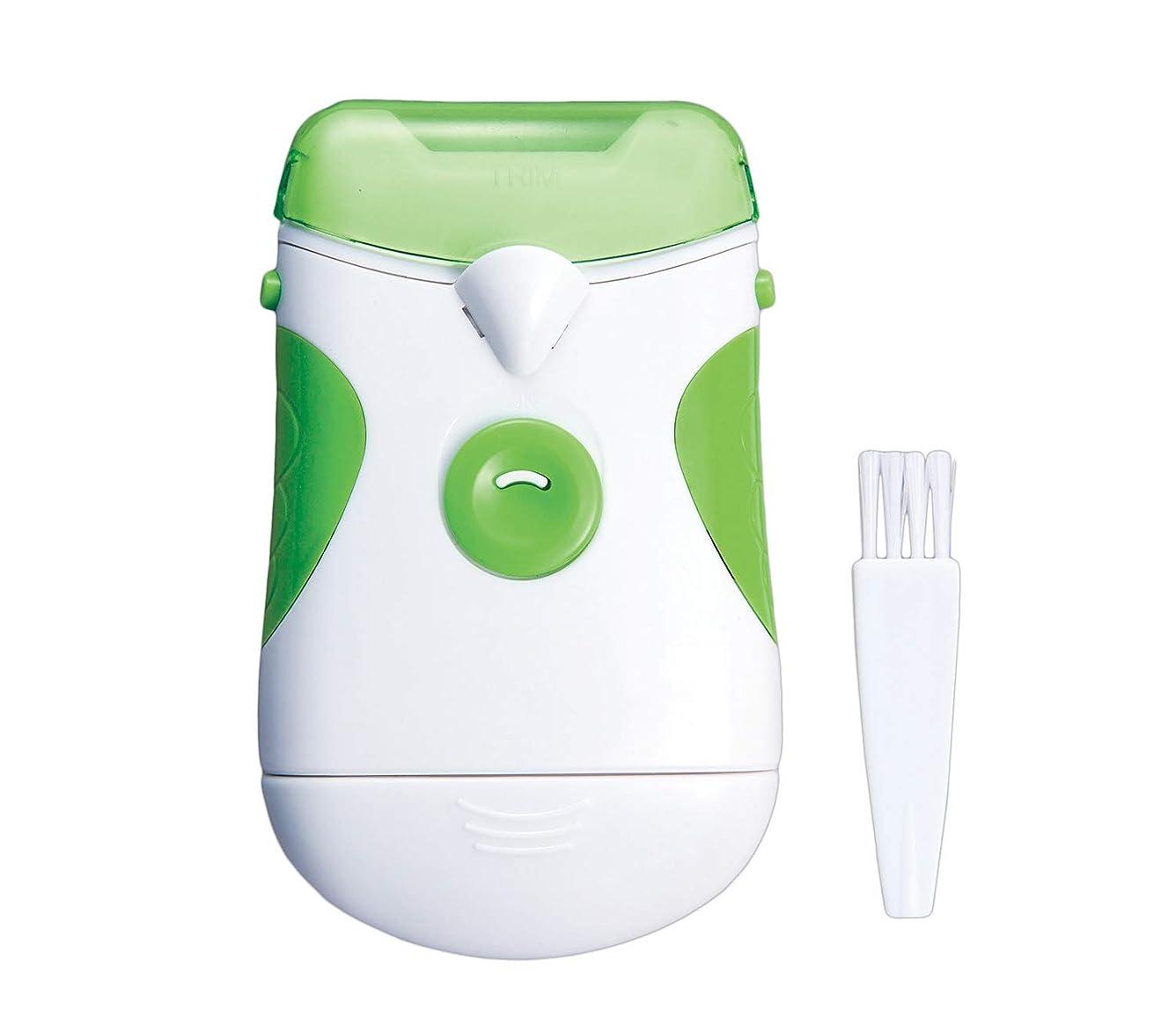 主要な動的終わり電動爪やすり(ライト付) つめやすり 電池式 コードレス 足の爪 老眼 ネイルケア 水洗い可 単三乾電池