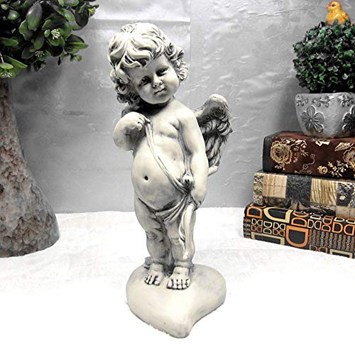 8x Outdoor Paesaggio Decorazioni Resina Flower Fairy Figurine della scultura statue