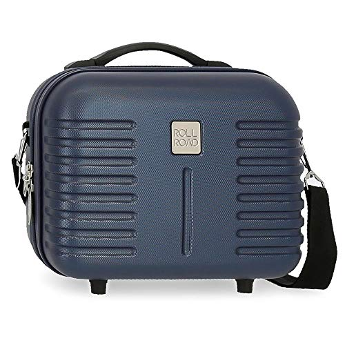 Roll Road India Nececer Adaptable Azul 29x21x15 cms ABS