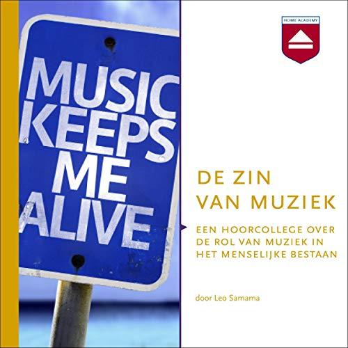 De zin van muziek audiobook cover art
