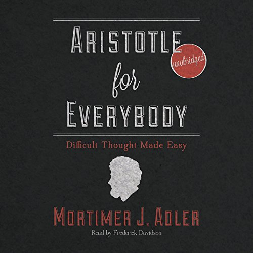 Aristotle for Everybody audiobook cover art