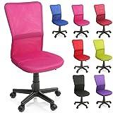 TRESKO Chaise Fauteuil siège de Bureau Ergonomique, de 7 Couleurs différentes, Lift...
