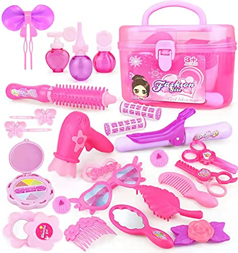 Girl Toys 3-7 Years Old Pretend Make Up Toys for Girls Princess Dress Up Toys...