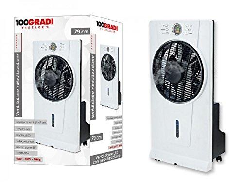 100 Gradi Fiseldem F012 Ventilatore con Nebulizzatore
