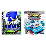 Sonic the Hedgehog - Playstation 3 & Sonic & All-Stars Racing Transformed - PlayStation 3