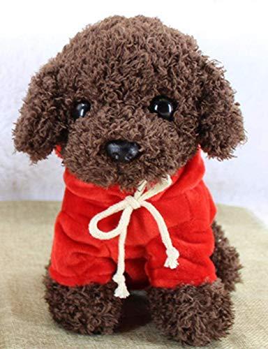 Kleine Simulation Hund Plüsch Kuscheltier 18cm Geburtstagsgeschenk für Kinder Geeignet für Baby Handpuppe Spielzeug Kissen Kissen Kissen