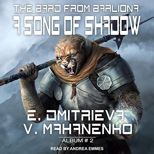 A Song of Shadow audiobook cover art