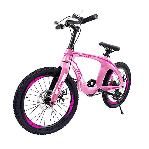 """Nice C BMX Bike, Mountain Bike, 20"""" Cycle Bicycle with Dual Disc Brakes, Ultralight for Boys and Girls(20"""