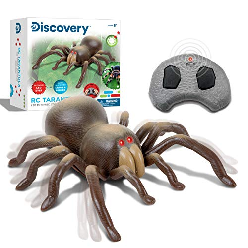Discovery Kids RC Moving Tarantula Spider, Wireless Remote...