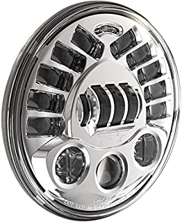 J.W. Speaker 0555031 7in. 8790 LED Adaptive 2 Headlight without Mounting Ring - Chrome