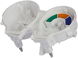 Carcaca Interna Do Painel Compatível Com Titan 150 2004/2008 , Pro Tork , Branco