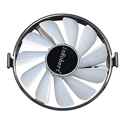 Hard Swap Fans GPU VGA LED Ventilador de Tarjeta Gráfica Ventilador de Refrigeración FDC10H12S9-C para XFX RX 570 580 460 470 480 Graphic Card