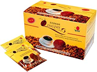 DXN Lingzhi Black Coffee 2 in 1 with Ganoderma Extract (4.5gm x 20 satchets)