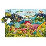 Ludattica 74846 Puzzle Gigante Dinosaurio, Multicolor