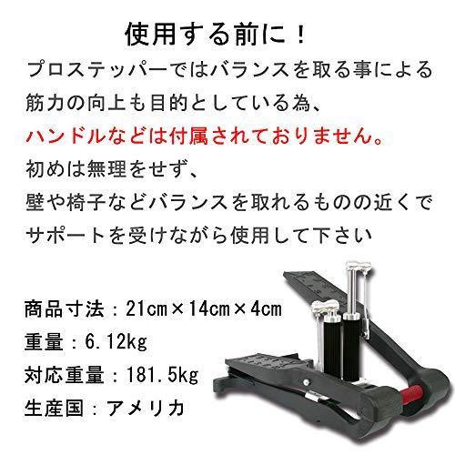 XiserProTrainerエクサープロステッパーフロアマット付きstepper日本語説明書付き5年保証ブラック[EXMO,Inc.]XISER-STEP-MATSET-BK