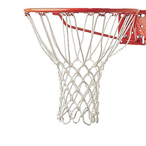 Kaned Heavy Duty Basketball Ersatznetz Allwetter Basketballnetz Professionelle Wettbewerbe Basketballnetz, weiß