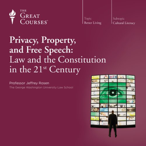 Privacy, Property, and Free Speech: Law and the Constitution in the 21st Century audiobook cover art