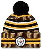 New Era Herren Pittsburgh Steelers Beanie, Black, One Size