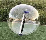 Water Ball 2 Metros Doble Color (Verde y Azul) PVC Super Resistentes- Esfera acuática Agua - Hinchable acuático - Water Zorb Ball (Material PVC Puro) Nº3