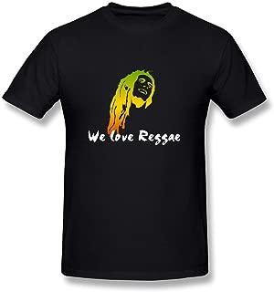 WunoD Men's We Love Reggae T-shirt