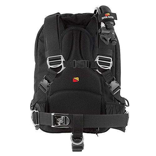Dive Rite TravelPac BC, Black, Medium