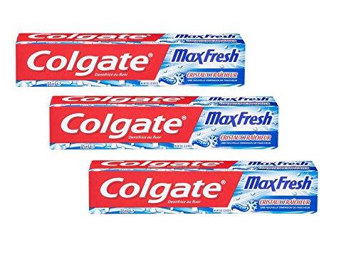 Colgate Max Fresh Cool Mint Zahncreme 75 ml, 3er Pack (3 x 75 ml)