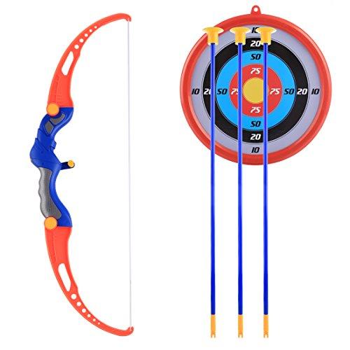 FADF Pfeilspielzeug, Bogenschießset, Pfeilspiel im Freien Bogenschießset für Kinder, Bogen- und Pfeilset für Kinder