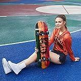 Zoom IMG-1 weskate skateboard classico per principianti