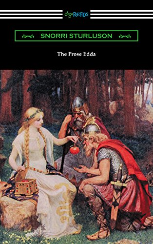 The Prose Edda (Translated with an Introduction, Notes, and Vocabulary by Rasmus B. Anderson) (English Edition)