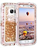 Coolden Heavy Duty Case for Samsung Galaxy S7 Case Glitter
