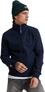 Superdry Men's Orange Label Track Top Jacket, Blue
