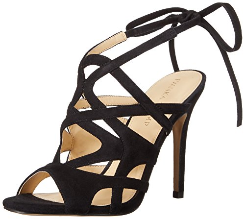 Ivanka Trump Women's Hesther Dress Sandal, Black, 8.5 M US