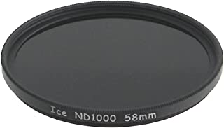 ICE 58mm ND1000 Filter Neutral Density ND 1000 58 10 Stop Optical Glass