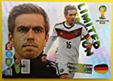 Panini ADRENALYN XL Copa del Mundo 2014 Brasil - Cojo Alemania Limitado Edition
