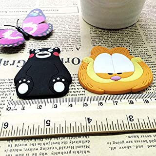 Professional 1pcs Bear And Cat Silicone Cartoon Animal Fridge Magnets Whiteboard, T Mold - Panda Resin, Gifts Baby, Panda Pc, Clay Babies In Collectibles, Mini Hot Air Balloon, Magnet Clip
