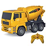 Fistone RC Cement Mixer Truck 6 Channel 1/18 Scale Auto Dumping Construction Vehicle