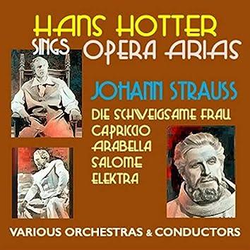 Hans Hotter sings Opera Arias