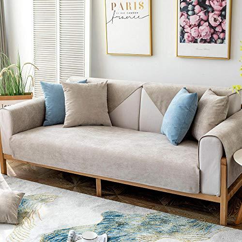 ZWMM Funda de sofá elástica Ajustable Resistente al Agua de Alta Elasticidad Funda de sofá para Mascotas 90 * 180 cm Lavable a máquina Adecuado para Perros y Gatos domésticos