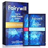 Teeth Whitening Strips for Sensitive Teeth, 50 Pcs 25 Treatments 3D Whitestrips Teeth Whitening, Fairywill Non-Slip White Strips Gentle and Safe for Enamel, Teeth Whitener Removes All Manner of Stains