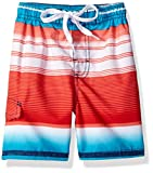 Kanu Surf Victor Stripe Quick Dry Beach Board - Bañador para niño Victor Navy/Red S