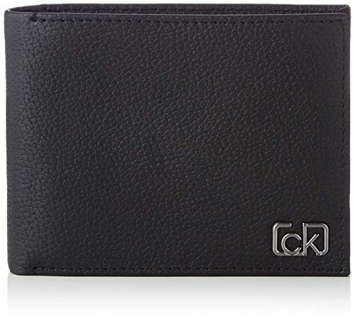 Calvin Klein Mens Coin Portemonnee 'Cast Pebble'