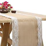 Bellkey Mesa de comedor hecha a mano Mesa Lino de mesa para el matrimonio, novia, ducha, festival, fiesta, eventos, decoraciones, Long