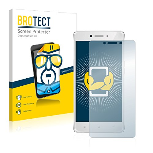 BROTECT Schutzfolie kompatibel mit Oppo R7 Lite (2 Stück) klare Bildschirmschutz-Folie