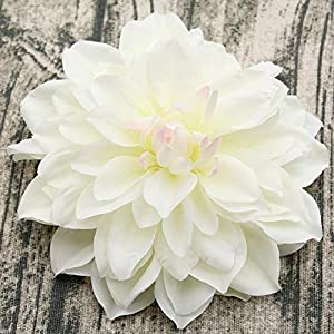 xingxing 10PCS/lot Big Artificial Dahlia Peony Flower Head 14/15CM Dia Silk Flower Wedding Flowers Wall Floral Party Home Decorative