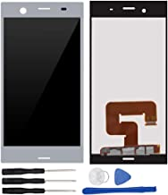 Assembly Replacement for Xperia XZ1 G8341 G8342 G8343 SO-01K 701SO 5.2 inch LCD Display Touch Screen Digitizer Silver